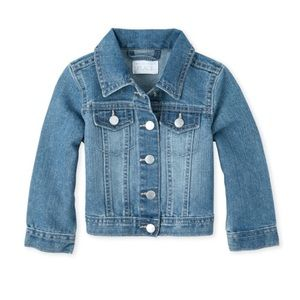 NWT Children's Place Toddler Girl Denim Jacket 3T